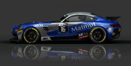 Chpt de France FFSA GT - Aur�lien PANIS et Fabien BARTHEZ avec la MATMUT et AKKA Technologies.