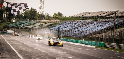 BLANCPAIN GT SERIES - SPRINT CUP - VICTOIRE A BUDAPEST !