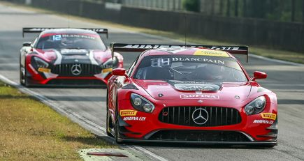 BLANCPAIN GT SERIES SPRINT CUP : DEUX PODIUMS A ZOLDER