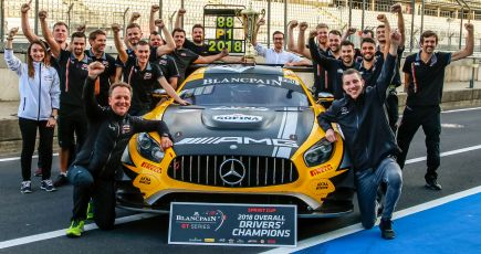 BLANCPAIN GT SERIES - SPRINT CUP - VICTORY AND DRIVERS' TITLE!