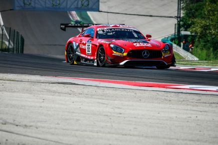 BLANCPAIN SPRINT CUP - BUDAPEST - Poles, podiums et victoire !